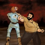 Bud Spencer vs Chuck Norris